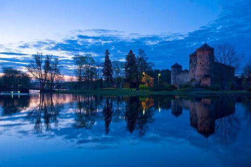 Olavinlinna tunnetaan muun muassa edesmenneen dekkarikirjailija Eeva Tenhusen kirjan Mustat kalat tapahtumapaikkana. Hiljattain kuollut iskelmälegenda Annikki Tähti muistetaan muun muassa laulustaan Balladi Olavinlinnasta.