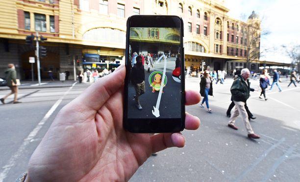 Pokémon GO Australiassa, joka on yksi pelin kolmesta julkaisumaasta.