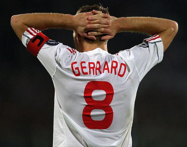 Steven Gerrardin pelikunto on kysymysmerkki.