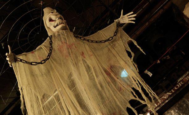 Kummitteleeko Riversiden museossa Skotlannissa? Kuvituskuva.