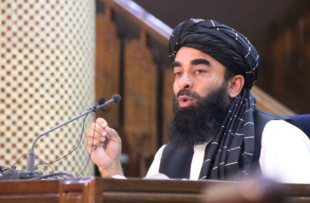 Tiedottaja Zabihullah Mujahid kertoi uuden hallinnon kokoonpanon tiistaina.