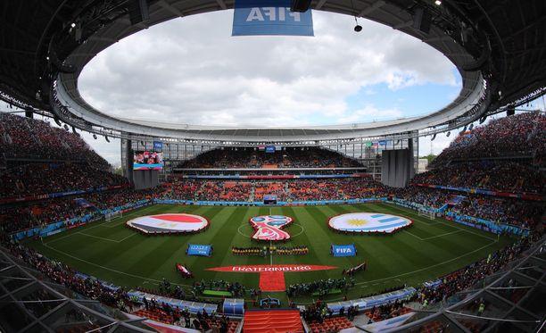 Egypti-Uruguay-ottelun näky hämmensi tv-katsojia.