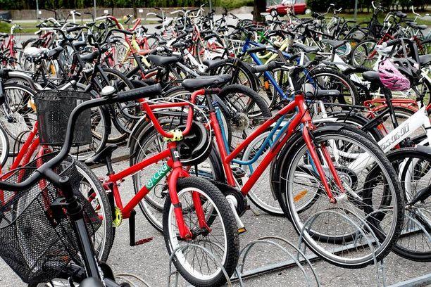 Polkupyörävarkaudet ovat jokakeväinen ja -kesäinen ilmiö.