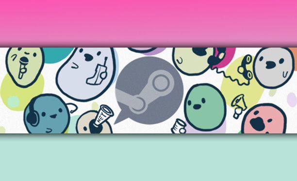 Steam uudistaa keskustelupalveluaan. Kuvituskuva.