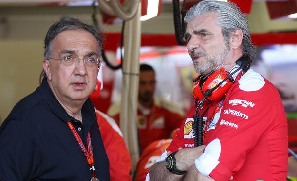 Sergio Marchionne (vas.) on laittanut Maurizio Arrivabenen tulosvastuulliseen asemaan. Unkarissa ei saa enää selitellä.