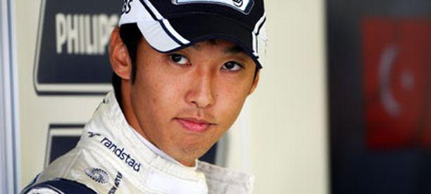 Kazuki Nakajima oli tänään nopeampi Williams-kuski.