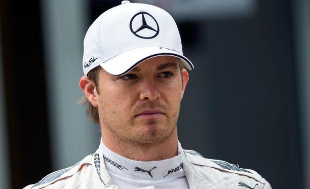 Nico Rosberg joutui keskeyttämään Venäjän GP:n