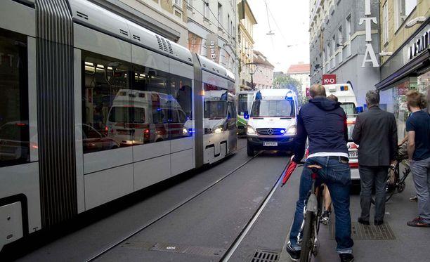 Grazissa järjestetty F1-tapahtuma muuttui murhenäytelmäksi.