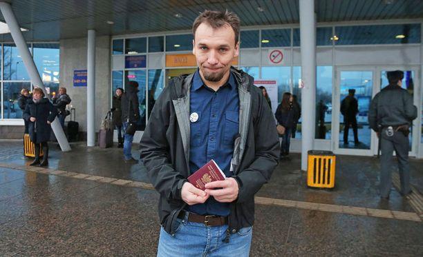 - Olen hyvin onnellinen päästessäni kotiin, Dziemianczuk sanoi ennen lähtöään Pietarista.