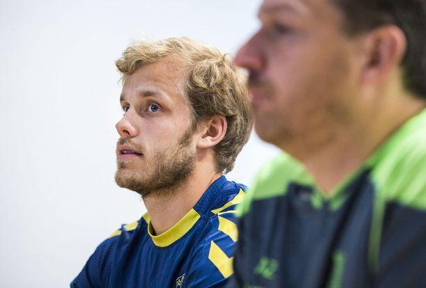 Teemu Pukki on pelannut Bröndbyssä vuodesta 2014 lähtien.