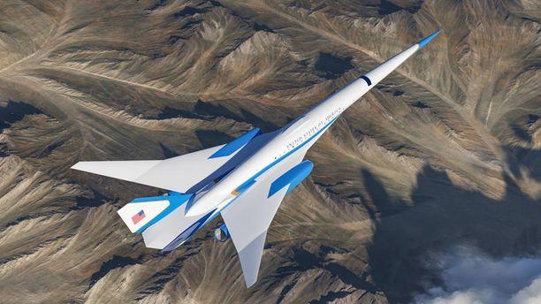 Exosonic on solminut USA:n ilmavoimien kanssa sopimuksen yliäänikoneen kehittämisestä presidenttien käyttöön.