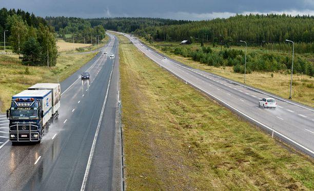 Piirityspaikka sijaitsi noin 40 kilometriä Lahdesta etelään Mäntsälän pohjoisen liittymän ja Levannon liittymän välillä.