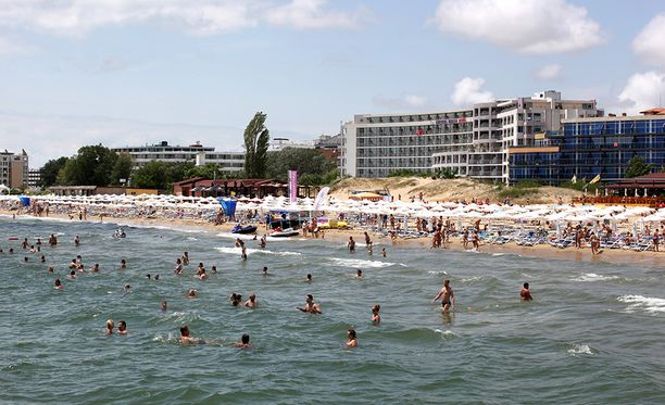 Kultahietikko Mustanmeren rannalla on suomalaistenkin lomailijoiden suosiossa.