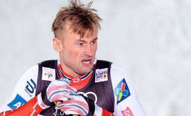 Petter Northugin paluu maailmancupiin meni penkin alle.