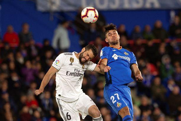 Real Madrid ja Getafe jauhoivat maalittoman tasapelin.