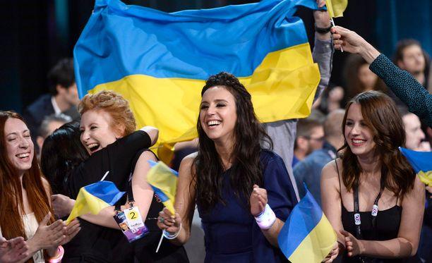 Ukrainan Jamala voitti viisut.
