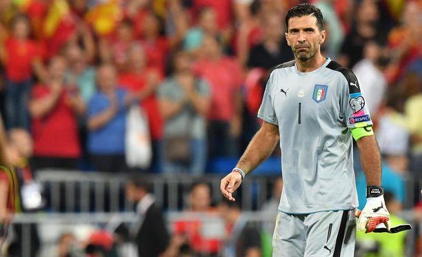 Gigi Buffon hakee ennätyksellistä kuudetta MM-kisapaikkaa.