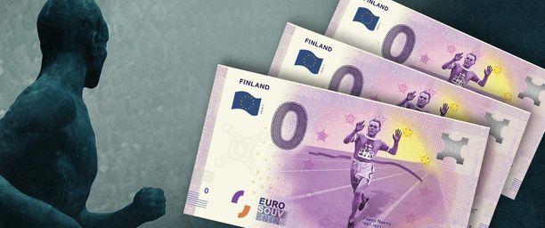 Paavo Nurmi on saanut kuvansa nollaseteliin – ensimmäistä kertaa kautta aikojen. Suomalaisurheilun nostalginen symboli sopii tähänkin tehtävään kuin valettu: Suomea juostaan jälleen maailmankartalle!