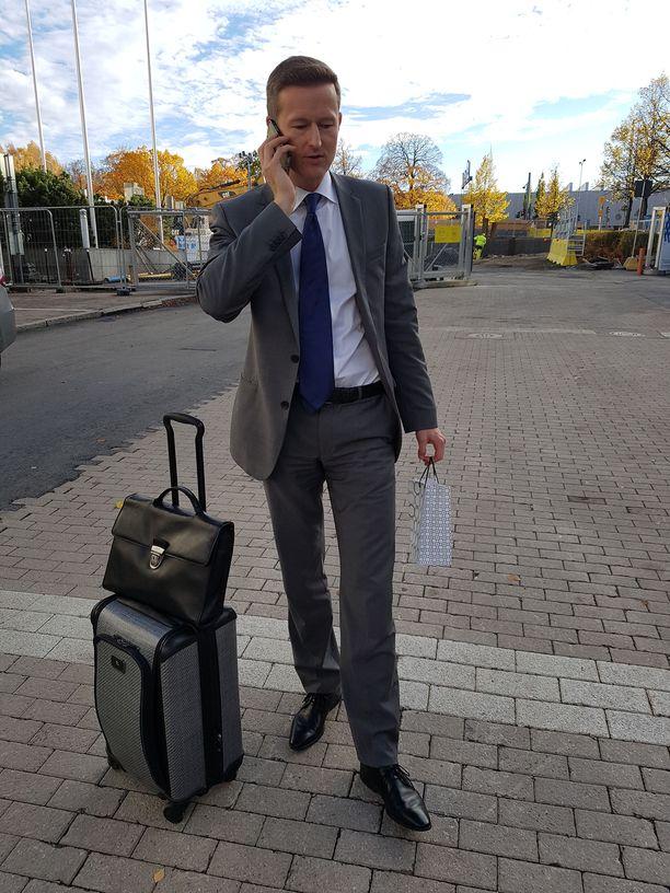 Tuomas Laakso on Marriottin Pohjois-Euroopan kehitysjohtaja.