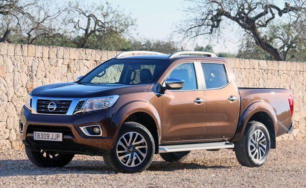 Uuden Navaran keula kelpaisi sellaisenaan crossover-Nissanin keulaksi.