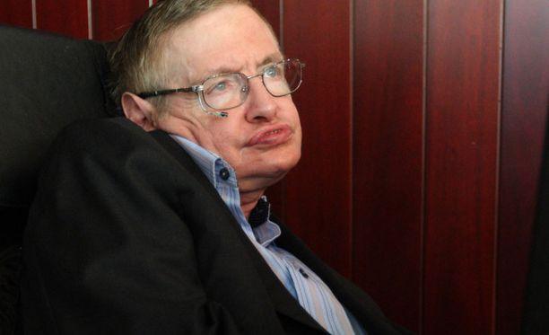 Hawking sairastaa ALS-tautia, mutta on noussut yhdeksi maailman arvostetuimmaksi fyysikoksi.