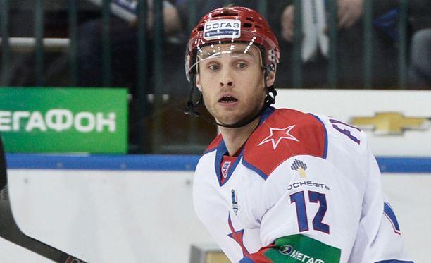 Ilari Filppula sai lähtöpassit Luganosta.