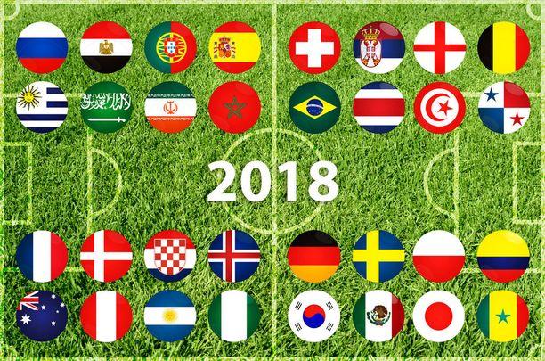 Jalkapallon MM-kilpailuihin odotetaan yli kolmea miljoonaa katsojaa.