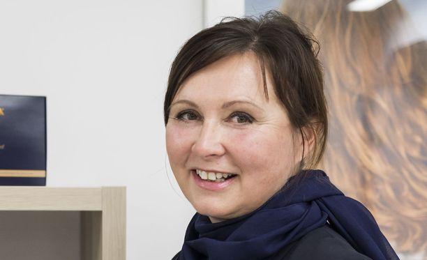 Anni Linnavirta toivoo, että alkuvuodesta Naviter-kosmetiikkaa saadaan myyntiin myös muihin EU-maihin.