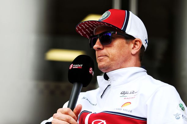 Kimi Räikkönen ei suostunut veikkailemaan sunnuntaina tulosluetteloa.
