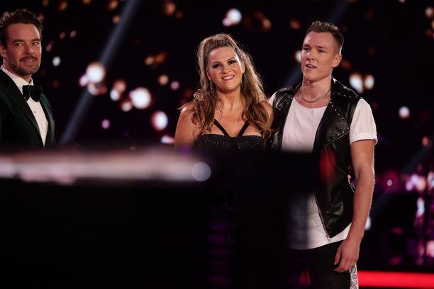 Janina Fryn ja Anssi Heikkilän matka Tanssii tähtien kanssa -kisassa päättyi.