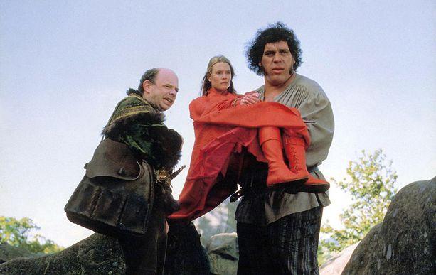 Vuonna 1987 André the Giant näytteli Prinsessan ryöstö -elokuvassa.
