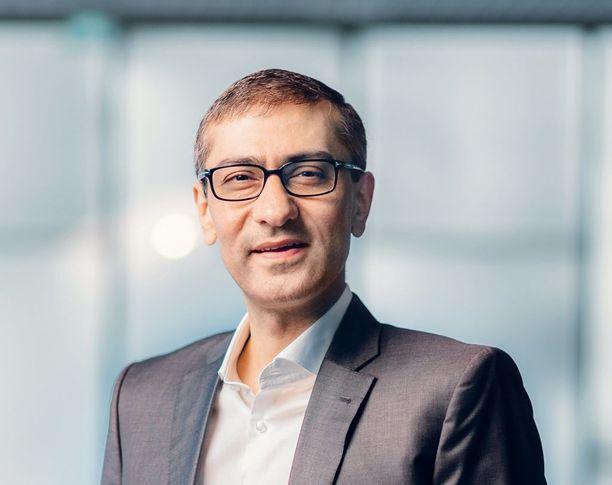 Nokian toimitusjohtajana toimii Rajeev Suri.