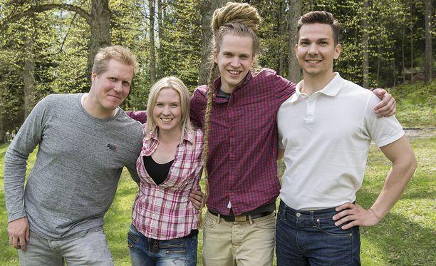 Aapo, Sanna, Lauri ja Heikki pääsevät tutustumaan puolisokandidaatteihinsa.
