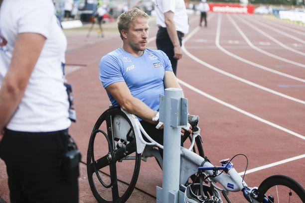 Leo-Pekka Tähden tuolin kelauskehä meni hajalle ennen Jyväskylän GP-kisaa.