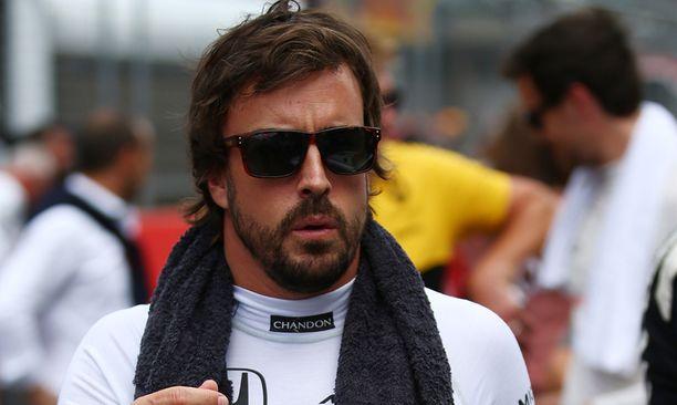Fernando Alonso ei ole ollut tyytyväinen tallinsa kilpailukykyyn.
