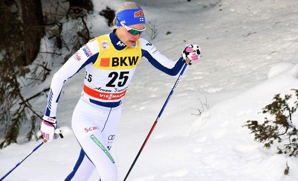 Anne Kyllönen vetäytyy tauolle.