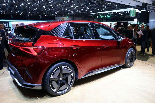 Seat El-Born on yksi makeimman näköisistä uusista sähköautoista.T