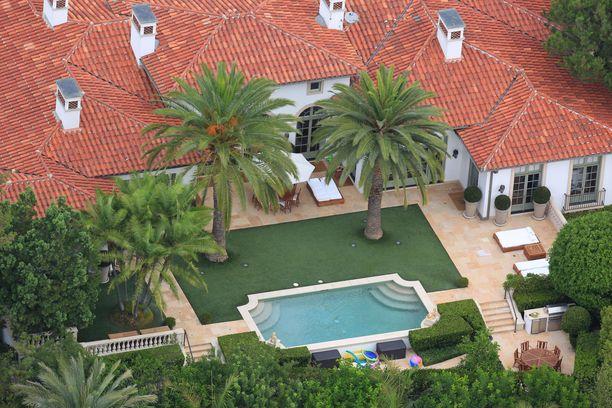 Beckhamit ovat myyneet Kalifornian-kotinsa.