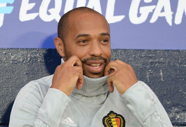 Thierry Henry pääsee testaamaan tietotaitonsa päävalmentajansa tehtävissä.