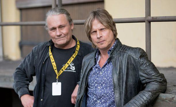 Edu Kettunen ja Kim Lönnholm nousivat samalle lavalle liki kolmenkymmenen vuoden tauon jälkeen.