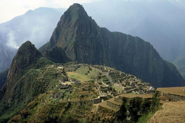 Machu Picchu on inkojen muinaiskaupunki Perussa.