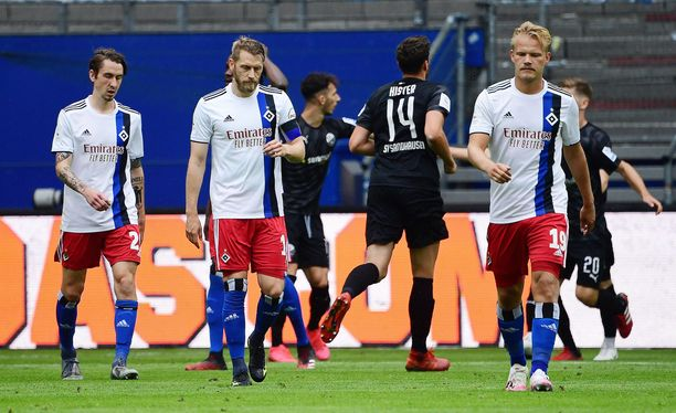 HSV joutui pettymään.