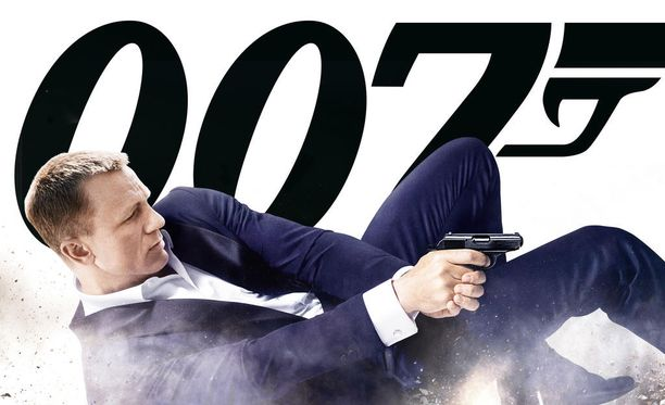 Daniel Craig on nähty viimeisimpien Bondien tähtenä.