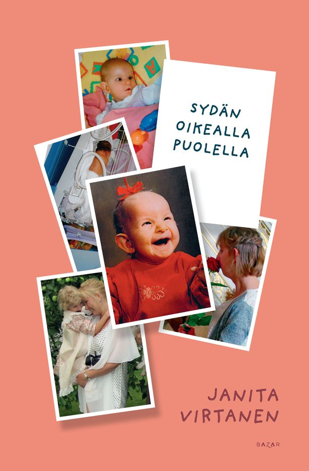 Riitta Peltonen kertoo Sofian ja koko perheensä elämästä myös Janita Virtasen kirjassa Sydän oikealla puolella (Bazar).