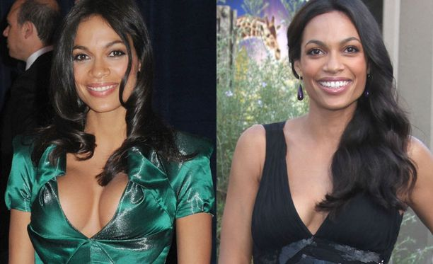 Vasemmalla Rosario muutama päivä sitten ja oikealla viime vuonna. Melkoinen muutos!