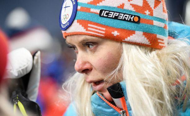 Olympiapettymys oli Mari Ederille raju paikka.