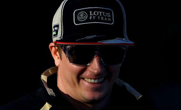 Kimi Räikkönen on pidetty tallipomojen keskuudessa.