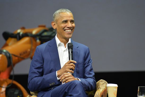 Obama kertoi yleisölle ihailleensa jo pitkään Suomea.