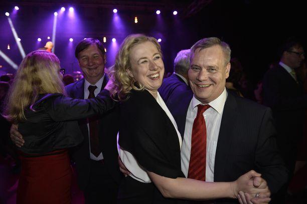 Haluaako Antti Rinne Suomen EU-komissaariksi Jutta Urpilaisen vai Eero Heinäluoman.