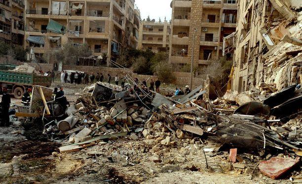 Syyrian sisällissodassa on kuollut yli 60 000 ihmistä. Loppua ei näy.